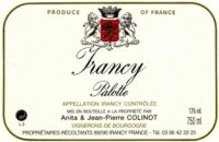 Domaine Colinot - Palotte 2007 (Irancy - red)