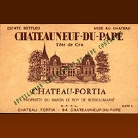 Château Fortia 2013 (Châteauneuf du Pape - red)